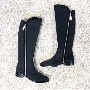 NEW Donald J. Pliner Nova-D Tall Black Boots 8M